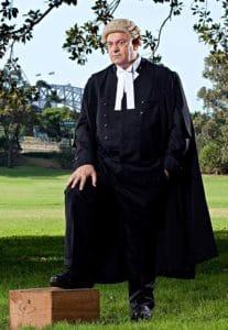 Mark Robinson SC at Domain Sydney